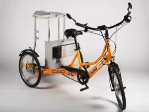 Triciclo de limpieza